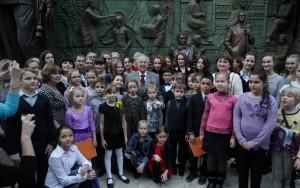 Награждение победителей открытого всероссийского конкурса детского риснка имени Нади Рушевой (1)
